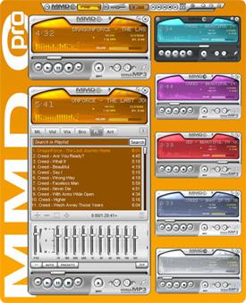 Скачать Скин для Winamp Pro MMD - скачать скины для winamp,winamp